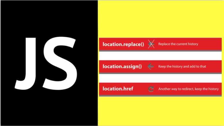 location.href vs location.replace vs location.assign