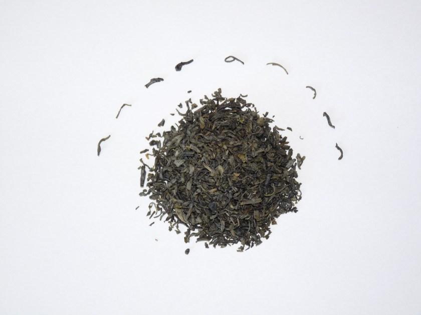 Fo Mei (Buddha's Eyebrow) green tea from SevenCups.com