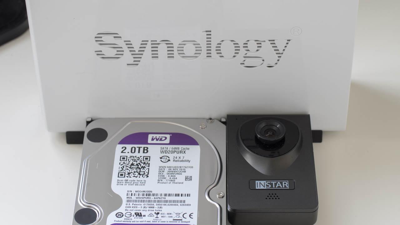 Die Synology Surveillance Station + eine Kamera Empfehlung