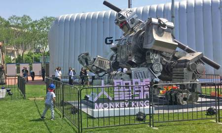 monkey king robot china