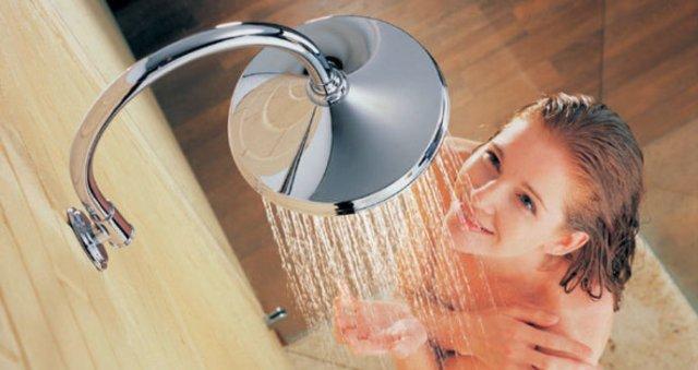 Ranní rutina - sprcha
