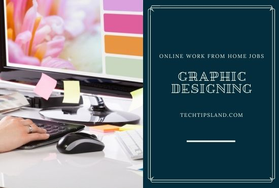 graphic designing online work from home jobs