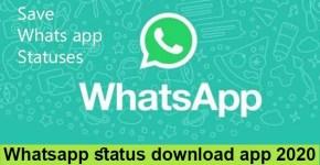 Whatsapp status download app 2020