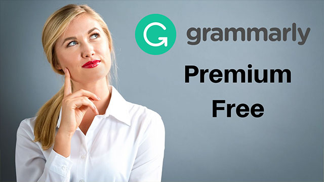 free grammarly premium account 2020