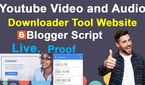 youtube video downloader script | simple youtube video downloader script