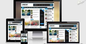 Linezap responsive blogger template free download (SEO Mobile friendly) adsense approval