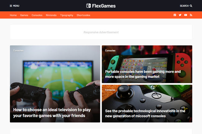 FlexNews Blogger Template Free Download