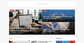 Gmag Blogger Template Free Download