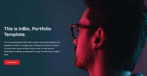 InBio Blogger Template Free Download
