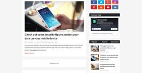Speedify Blogger Template Free Download