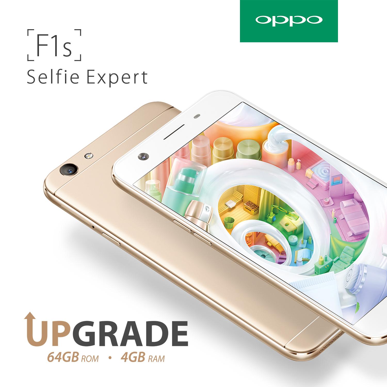 Upgrade OPPO F1s