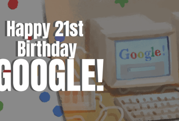 Google Doodle for Google's 21st Birthday this September 27, 2019