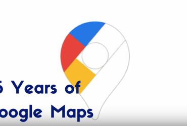 15 years of Google Maps