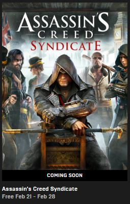 Assassin's Creed Syndicate: FREE to Download on Epic Games this Week!