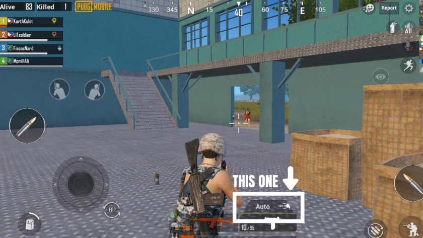 30+ PUBG Mobile Tips and Tricks: Classic, Zombie Mode, & more! It's about Auto and Single shots.