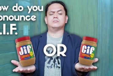 how do you pronounce GIFhow do you pronounce GIF