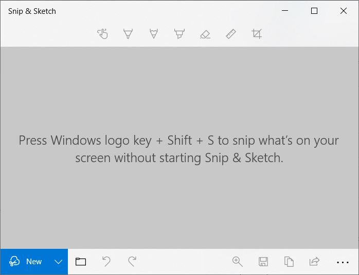 """A screenshot of the Snip & Sketch. This photo is for the """"How to Screenshot in Laptop"""" blog of TechToGraphy."""