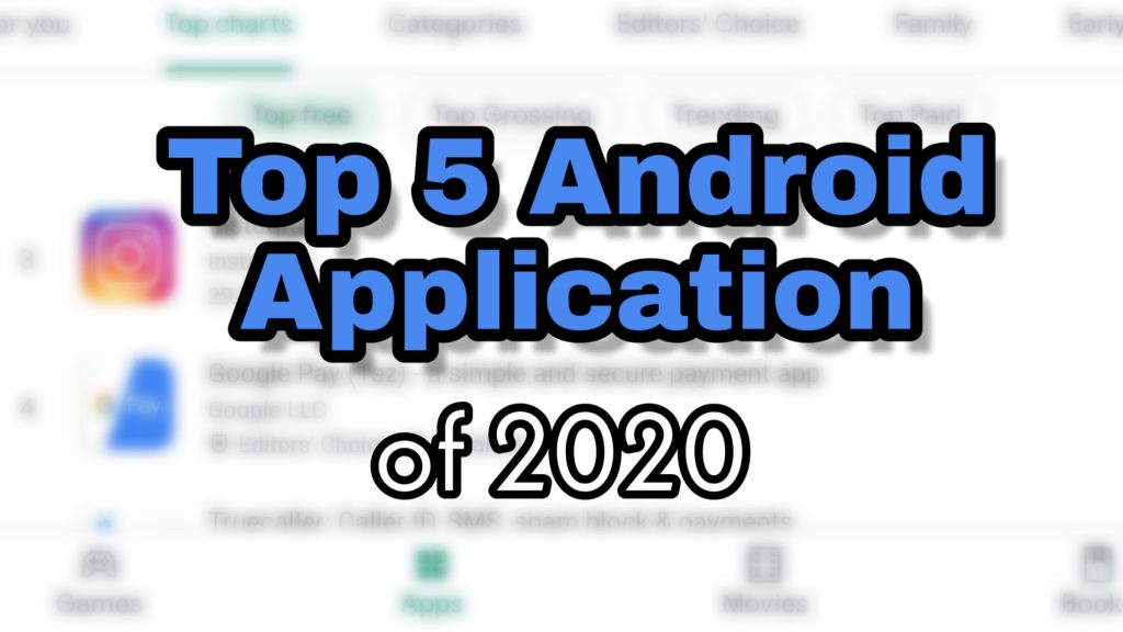 top android application of 2020