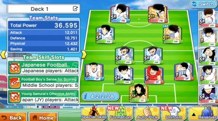 download Captain Tsubasa Dream Team for pc