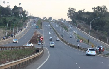 The new look Nairobi-Thika superhighway. Google Maps, will now help you see street view images going as far as 2007