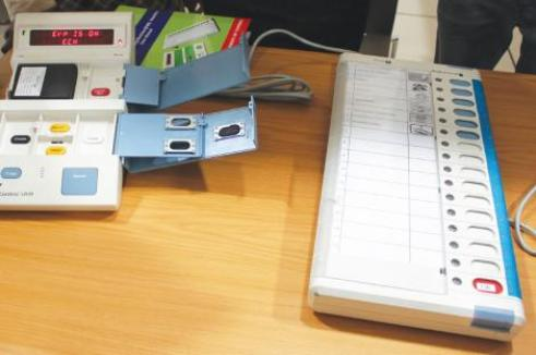 The lectronic voting machines for use in Namibia elections on Friday (Source:Namibian Sun)