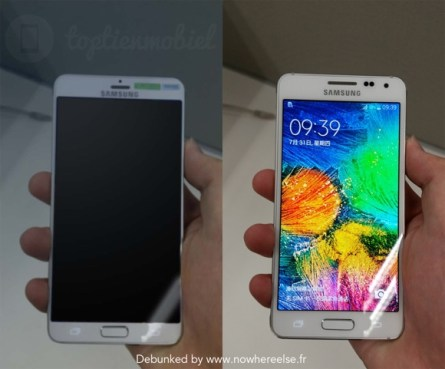 Some of the leaked images of the Galaxy S6 (gsmarena)