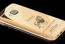 Photo of HTC releases a $2,500 Gold-Plated smartphone in honour of Cecil the lion