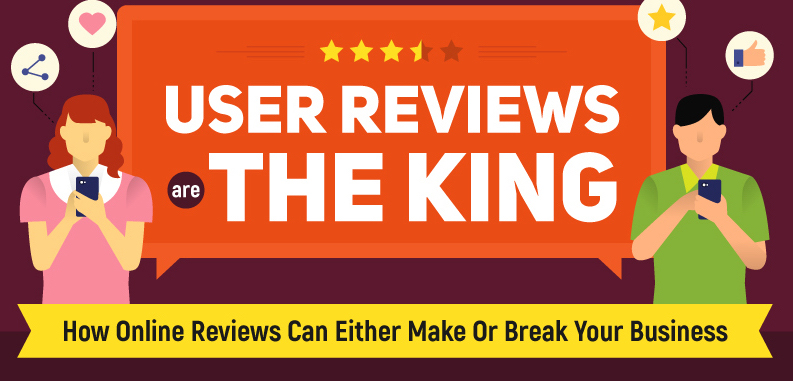 Infographic: How Online Reviews Can Either Make Or Break Your Business