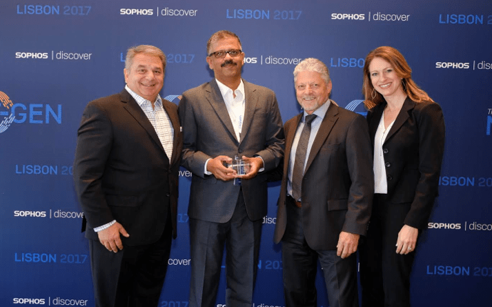 Sophos honors top Channel Partners from the Middle East and Africa region