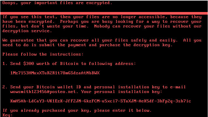Sophos warns internet users against Petya Ransomware outbreak