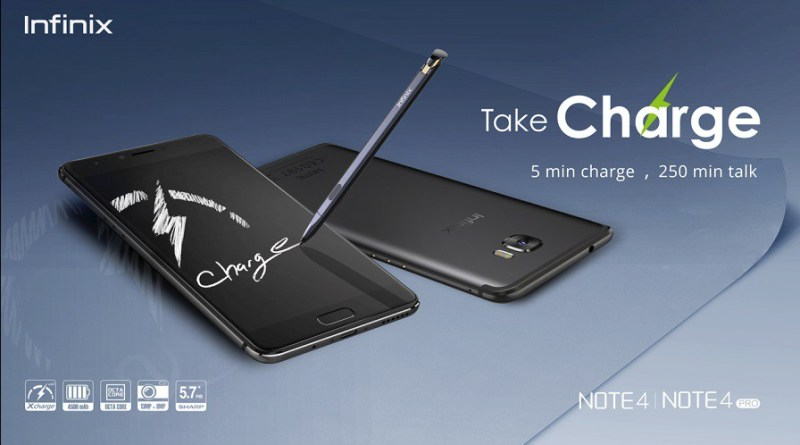 Infinix Note 4 Pro with Stylus pen (X-Pen) launching in mid August 2017, here are the specs