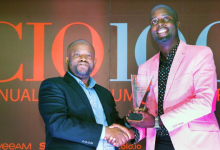 Photo of NTSA's IT Lead crowned CIO of the year at the 2017 CIO100 Awards