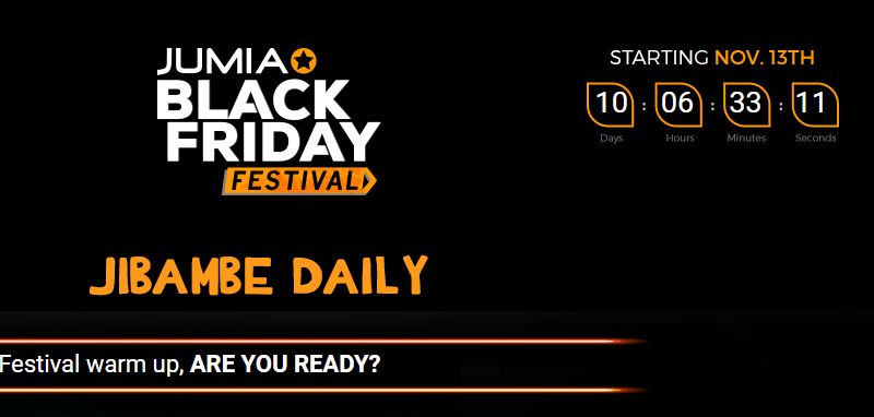 Here is what to expect ahead of the 2017 One Month Jumia Black Friday