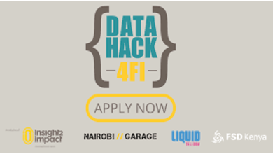 Photo of Kenyan Startups invited to apply for this year's DataHack4FI competition