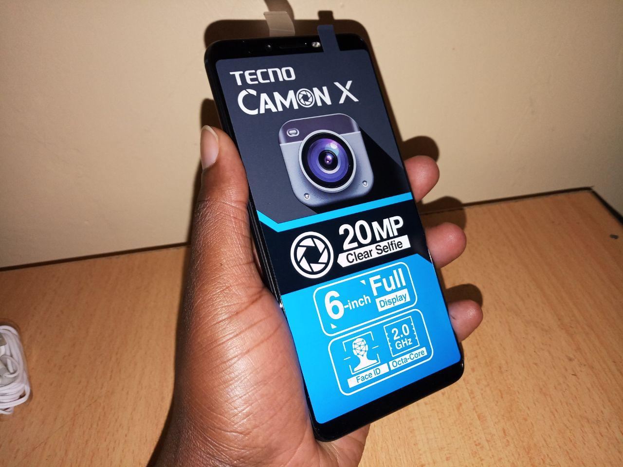 Tecno Camon X Unboxing and first impressions - TechTrendsKE