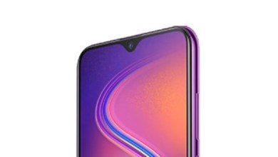 Infinix S4 with waterdrop notch