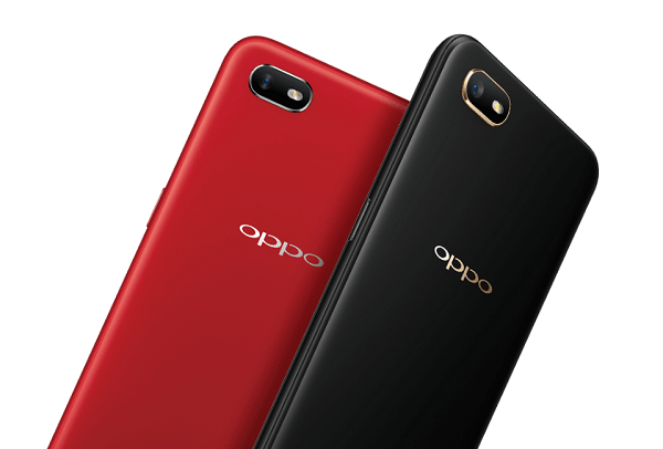 Oppo A1k color variants