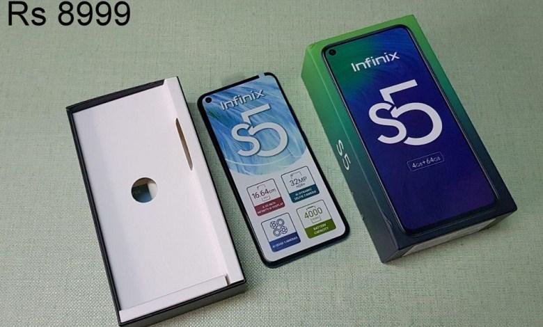 Infinix S5 Kenya
