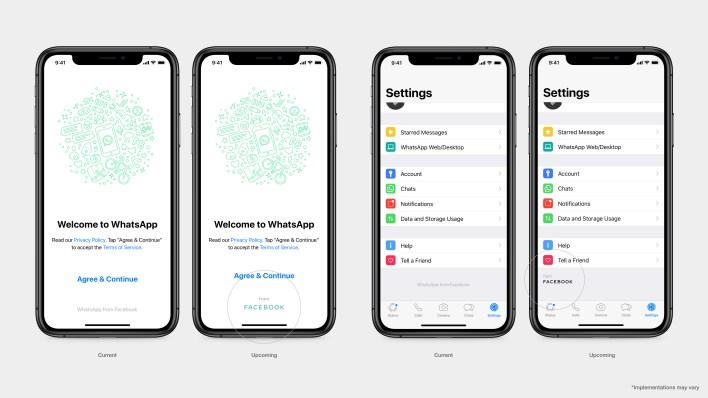 WhatsApp upcoming product screen