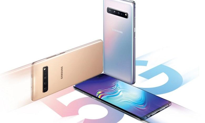 Samsung Galaxy 5G phones