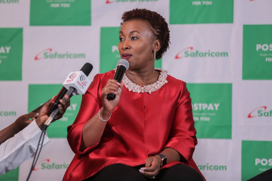 Safaricom CCO Slyvia Mulinge