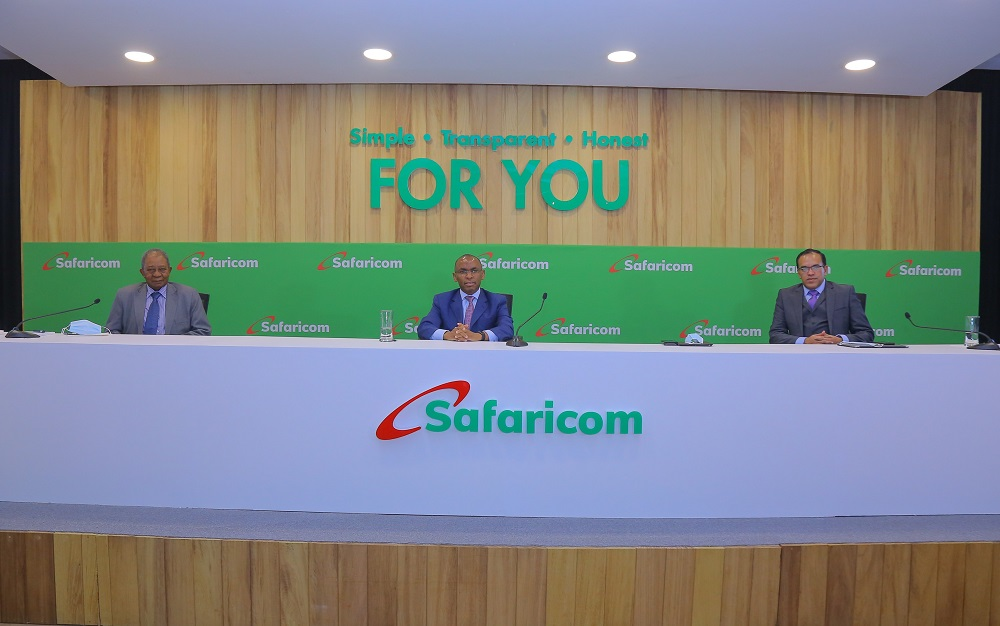 Safaricom CEO and other panel members