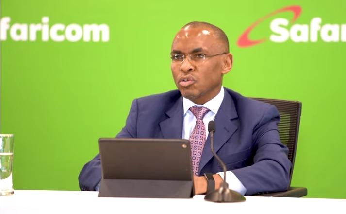 Safaricom CEO Peter Ndegwa