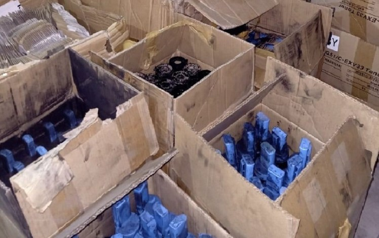 Counterfeit HP goods seized in Tanzania March 2020