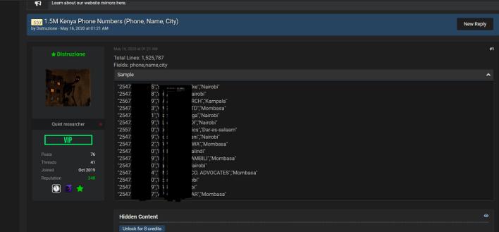hacker forum screenshot