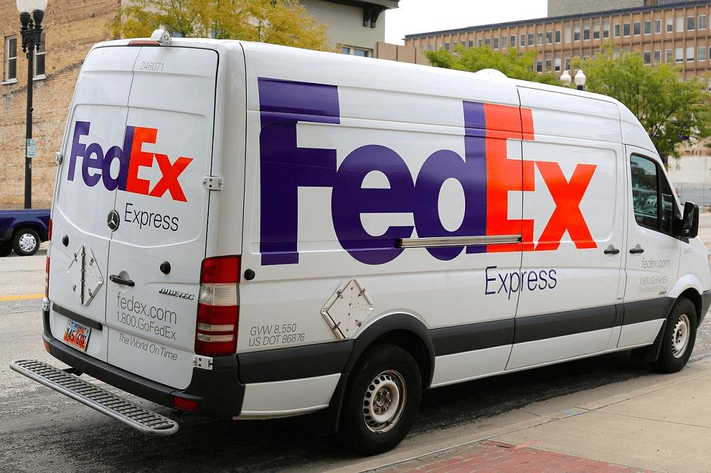 FedEx Express delivery van