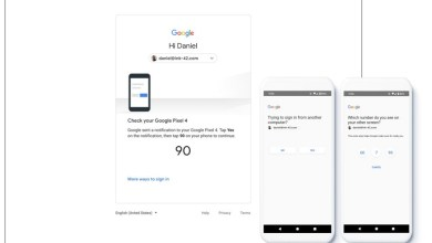 Google Two-Factor Authentication-promt