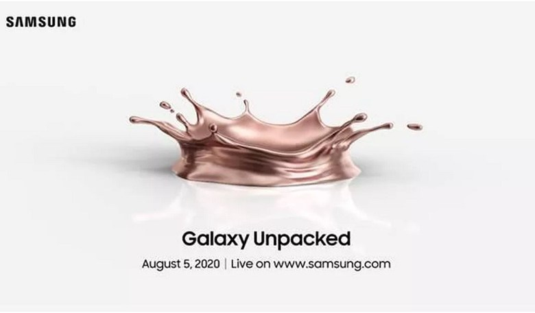 Samsung Unpacked event livestream