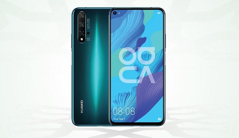 Huawei nova5T in green