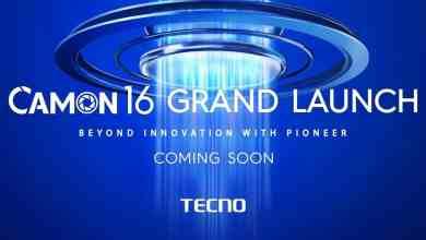 TECNO Camon 16 series launch poster